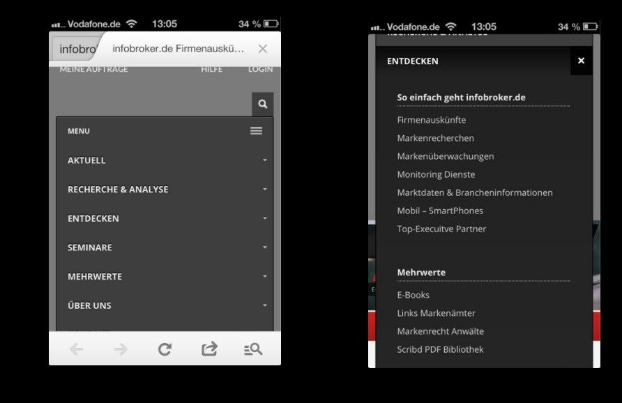 iphone-menuefuehrung-infobroker