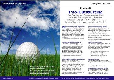 Newsletter 18. KW infobroker