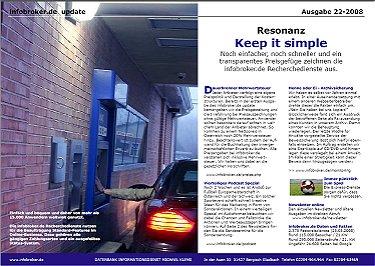 infobroker.de Newsletter 22.KW