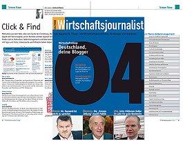 Wirtschaftsjournalist Ausgabe 4/2008