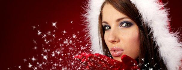 weihnachten-frau-glitter-1