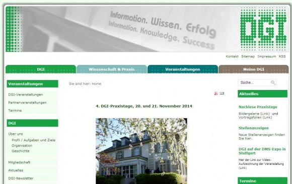 Deutsche Gesellschaft für Information und Wissen e.V. (DGI)