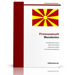Firmenauskunft Mazedonien