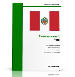 Firmenauskunft Peru