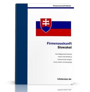 Firmenauskunft Slowakei