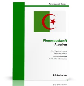 Firmenauskunft Algerien