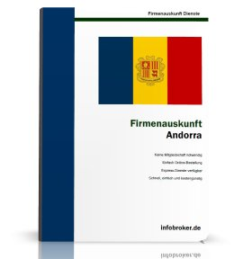 Firmenauskunft Andorra