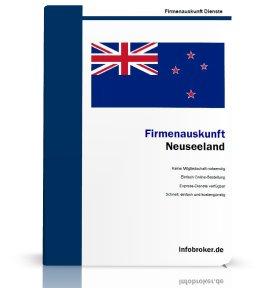 Firmenauskunft Neuseeland