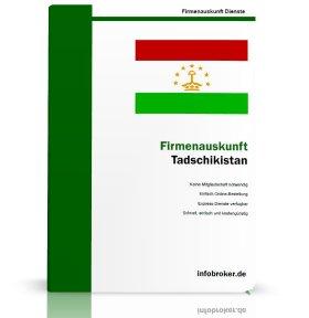Firmenauskunft Tadschikistan