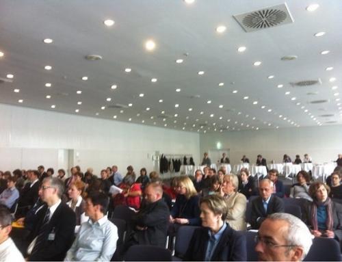Michael Klems referiert im Rahmen der Frankfurter Buchmesse zu Informationsvermittlung