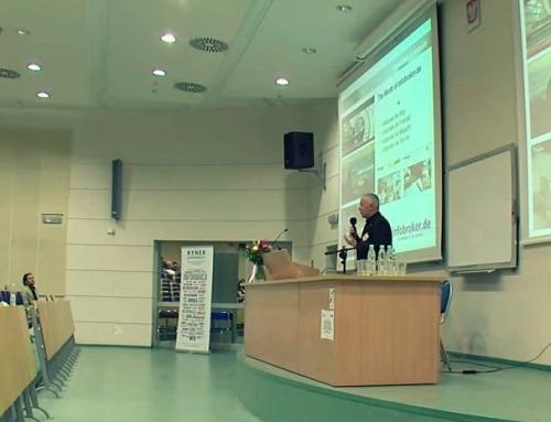 Vortrag in Krakau: Michael Klems referiert über die deutsche Informationsbranche