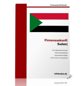 Firmenauskunft Sudan