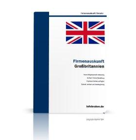Firmenauskunft Großbritannien
