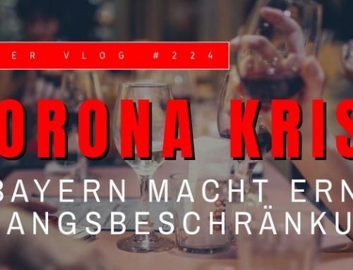 Bayern mit Ausgangsbeschränkungen – Corona-Krise infobroker vlog #224