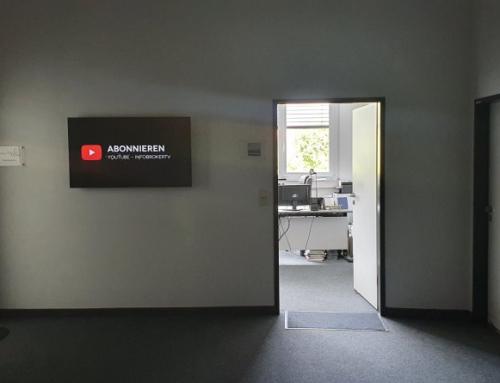 Freitag Abend – Warum die Bürotüre im Sommer offen steht
